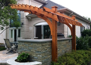 what to do before installing a new pergola