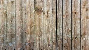 old fence tear down